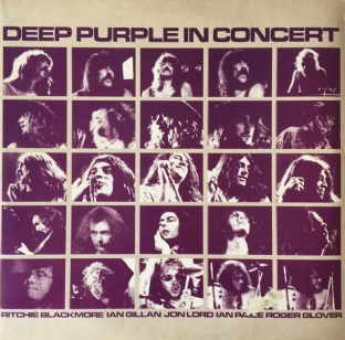 Deep Purple - Deep Purple In Concert (LP) (VG/G++)